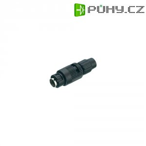 Kulatý konektor submin. Binder 710 (99-9479-100-08), 8pól., kab. zástr., 0,14 mm², 3-4 mm