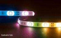LED pásek 3528 60LED/m IP20 12W/m RGB, cena za 5cm
