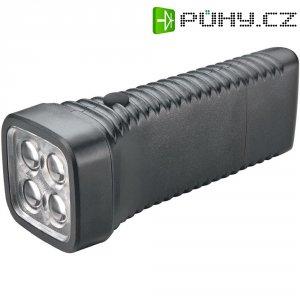 Kapesní LED svítilna AccuLux MultiLED, 413282, 100 - 240 V/50 - 60 Hz, černá