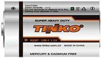 Baterie TINKO 1,5V D(R20) Zn-Cl, expirace 6/2017