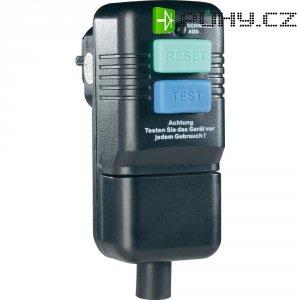 Bezpečnostní zásuvka, IP40, 10 mA, černá