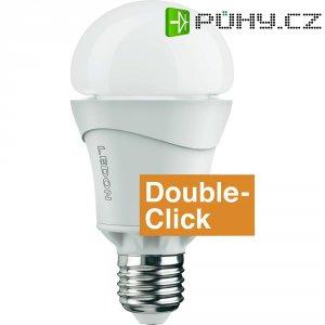 LED žárovka Ledon A65, E27, 10 W, teplá bílá, double click