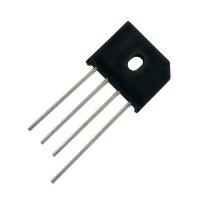 Můstek diod. 6A/1000V KBU6M plochý