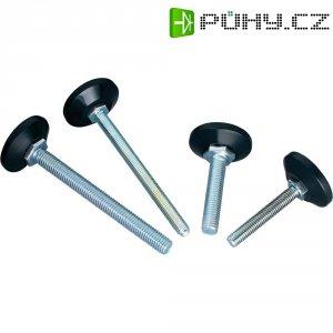 Podstavná nožka přístrojová PB Fastener 148 3810 699 11, (Ø x v) 38 mm x 110 mm, černá, 1 ks
