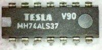 74ALS37 4x 2vstup NAND výkonový, DIL14, /MH74ALS37/