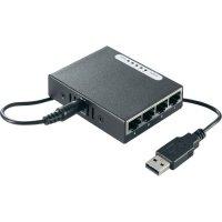 Switch mini s USB napájením, 4-portový