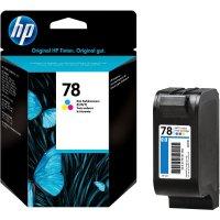 Cartridge do tiskárny HP C6578DE (78), cyanová/magenta/žlutá