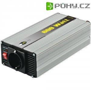 Sinusový měnič napětí DC/AC e-ast CLS 600-24, 24V/230V, 600 W