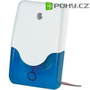 Siréna s blikajícím modrým světlem Abus, SG1683, 100 dB, IP34