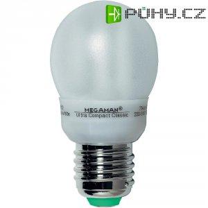 Úsporná žárovka kulatá MegamanBestseller Ultra Compact E27,7 W, teplá bílá