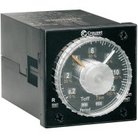 Vestavné časovací relé analog Crouzet, 88886516, TIMER TMR 48L, 5 A