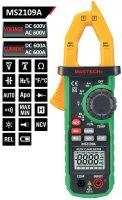 Multimetr MASTECH MS2109A AC/DC klešťový,automat