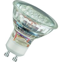 LED žárovka, GU10, 2W, teplá bílá, Osram