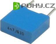 4n7/630V TC356, svitkový kondenzátor, RM=7,5mm