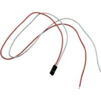 Připojovací kabely pro LED pásky SLV, 50 cm, 2 ks, červená/bílá