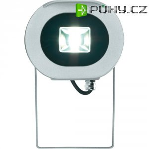 Venkovní LED reflektor Sygonix 34629C, 20 W, stříbrná/šedá