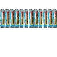 Alkalická baterie Conrad energy, typ AAA, 12 ks