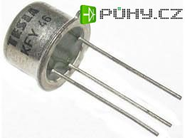 KFY46 /BFY46, ~KF508/ N 75V/0,5A 2,6W 70MHz TO39