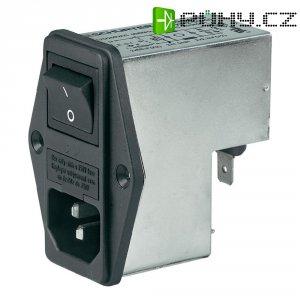 Síťový filtr Yunpen YQ04A1, 2 x 2,5 mH, 125/250 V/AC, (50/60 Hz), 4 A