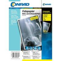 Conrad fotopapír A4,100g,50listu mat