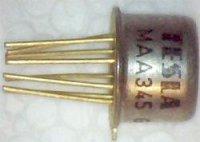 MAA345 - lineární IO, TO99