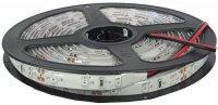 LED pásek 8mm, červený, 60xLED2835/m, IP65, cívka 5m