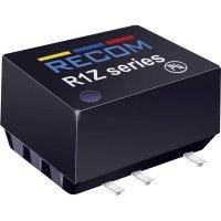DC/DC měnič Recom R1Z-0505/HP (10014341), vstup 5 V/DC, výstup 5 V/DC, 200 mA, 1 W