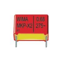 Kondenzátor odrušovací MKP-X2 Wima, 1 µF, 275 V/AC, 20 %, 31,5 x 13 x 24 mm