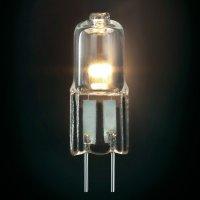 Halogenová žárovka Sygonix, G4, 5 W, 32 mm, stmívatelná, teplá bílá