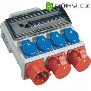 Rozbočovač Mobil Horn BV Wand PCE, 9004001, zástrčka 32 A ⇒ 1x CEE a 4x zásuvka