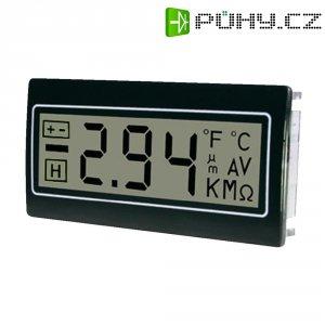 Panelový multimetr TDE DPM961-R, 22,2 x 45 mm