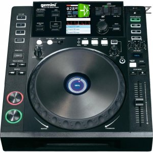 DJ single CD/MP3 přehrávač Gemini CDJ-700, USB/SD