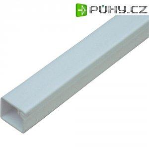 Malá kabelová lišta OBO Bettermann 6150179, 12,5 x 12,5 mm, 2 m, čistě bílá