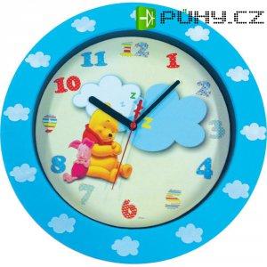 Analogové nástěnné hodiny Méďa Pů, 25 cm