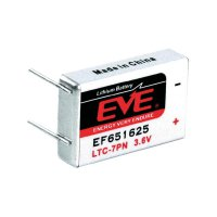 Lithiová baterie Eve, typ LTC-7PN, s pájecími kontakty