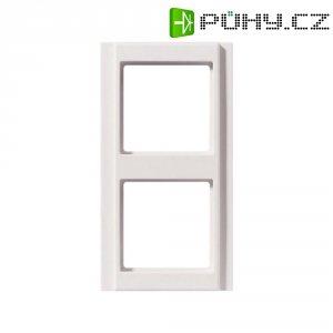 Krycí rámeček Jung, A582WW, dvojnásoný, bílá