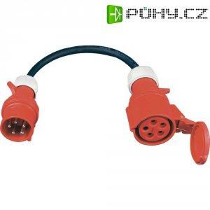 CEE adaptérový kabel SIROX 353.801, zástrčka 16 A ⇒ zásuvka 32 A, IP44