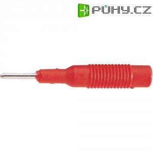 Adaptér 2/4 mm SKS Hirschmann MZS 2 (973600101), PP, rovný, červená