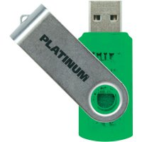 Flash disk Platinum Twister 64GB zelený