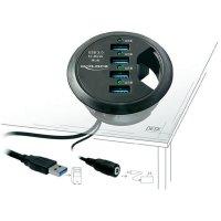 Stolní USB 3.0 hub Delock, 4-portový