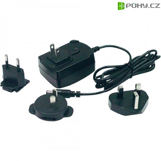 Síťový adaptér s redukcemi Phihong PSAC09R-050, 5 V/DC, 9 W - Kliknutím na obrázek zavřete