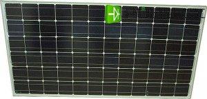 Fotovoltaický solární panel 24V/200W monokrystalický