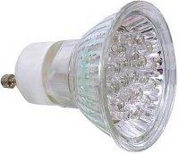 Žárovka LED GU10-20x,zelená,230V