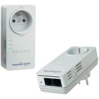 Netgear Powerline AV500 Nano Passthru Dual Port XAVB5602