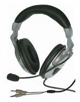 Sluchátka + mikrofon LUXUS-850