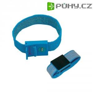 ESD zemnicí náramek BJZ C-198 1261, cvoček 4 mm, světle modrá