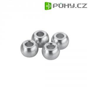 Hliníkové kuličky kloubů Reely 5 x 7 mm, otvor 3 mm (V211302)