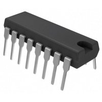 5V Dual RS-232 Transceiver Maxim Integrated MAX202ECPE+, DIP16