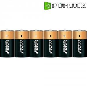 Alkalická baterie Duracell Plus, typ C, sada 6 ks