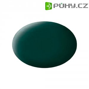 Airbrush barva Revell Aqua Color, 18 ml, černá/zelená matná